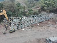 Ejército inicia construcción de puente vehicular en Cundinamarca