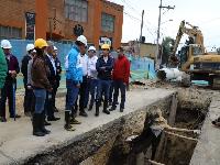Inicia obra que mejorará el alcantarillado de Madrid, Cundinamarca