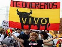 Nuevas protestas en el centro de Bogotá por temporada taurina