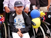 Ayudas técnicas para población con discapacidad en Soacha
