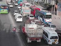 Lentitud en obras de la autopista Sur tiene desesperados a habitantes de Soacha