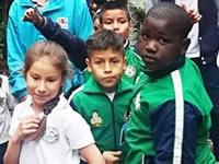 Niños de Soacha defienden el medio ambiente