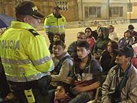 Barristas de Soacha y Policía recuperan espacios deportivos