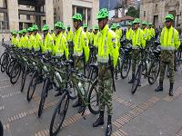 200 bicicletas  para mejorar vigilancia en Bogotá