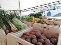 Sibaté promueve el trueque de alimentos frescos por materiales reciclables