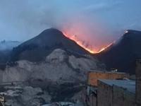 Incendio en cerros de Soacha cuestiona nuevamente la capacidad de bomberos municipales
