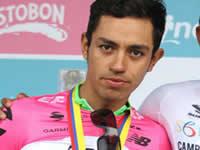 El soachuno Daniel Martínez ganó la etapa reina de la Paris Niza