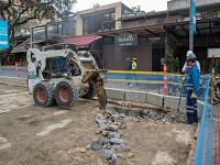 Arrancaron las obras de transformación de la Zona Rosa de Bogotá