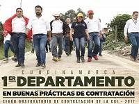 Cundinamarca: primer departamento del país en implementar buenas prácticas de contratación