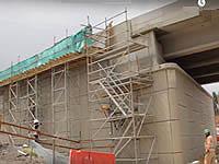 Construcción del puente de ingreso a Sibaté concluye a finales de marzo