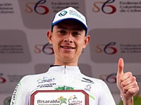 Miguel Ángel Reyes  campeón de la Vuelta al Valle
