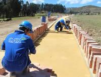 Continúa  construcción del sendero peatonal desde Soacha hasta Cota