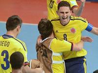 Soacha salió  goleada en amistoso que jugó con la selección Colombia