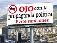 Piden frenar publicidad política en Soacha y otros territorios del país