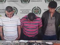 Capturan tres sujetos en Soacha después de hurtar caja fuerte