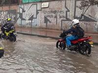 En  aprietos residentes de Soacha por aguaceros de los últimos días