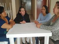 Mujeres lideran una junta de acción comunal en Soacha