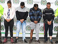 Desarticulan poderosa banda delincuencial en Cundinamarca