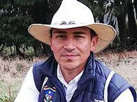 Luis Carlos Vásquez, el ambientalista soachuno que  suma kilómetros de naturaleza