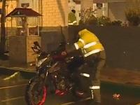Dos falsos policías robaban motos en Soacha