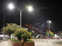 Iluminación led llega a Sibaté