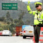 300 vehículos se han inmovilizado durante el puente festivo en Cundinamarca
