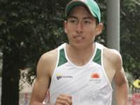 Atleta soachuno Cristian Moreno sigue triunfando