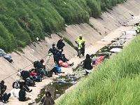 Policía realiza  intervención al canal de Comuneros