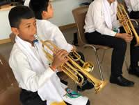 Banda sinfónica de Nimaima ganadora del Festival Europeo de Música para la Juventud