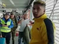 Dos agresores fueron detenidos en Transmilenio Soacha