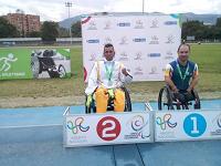 Gran representación cundinamarquesa en  el Abierto Nacional de Paraatletismo y Paranatación