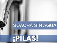 Buena parte de Soacha se quedará sin agua este viernes