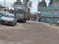 Quejas en barrio de  Soacha por falta de gestión comunal