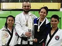 Jóvenes de Soacha, campeones departamentales de hapkido