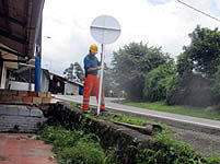 Avanza mantenimiento de la vía Soacha-Tocaima