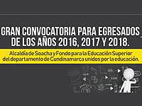 Bachilleres  de Soacha y Cundinamarca podrán  acceder a becas universitarias