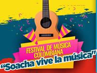Soachunos disfrutarán al ritmo del Festival de Música Colombiana