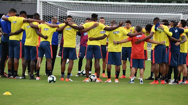 Colombia lista para enfrentar a Catar