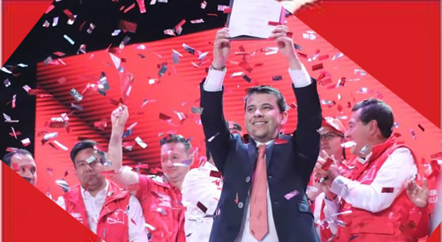 Nicolás García recibe coaval Liberal para la Gobernación de Cundinamarca