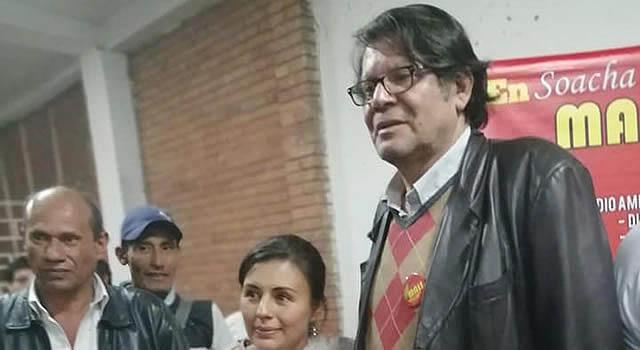 El cura Jesús Ochoa, otro precandidato que busca  la Alcaldía de Soacha