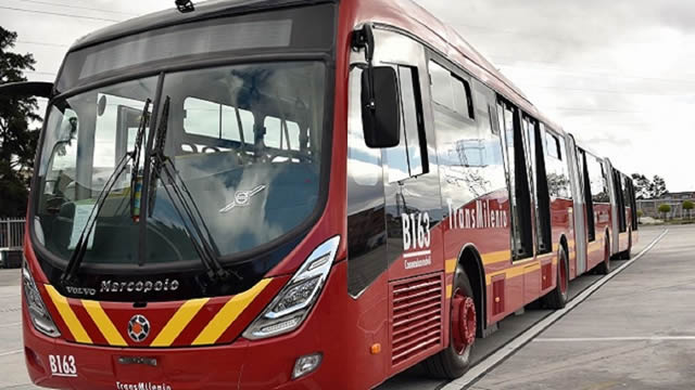 Comenzaron  a funcionar  336  nuevos buses de TransMilenio en Bogotá