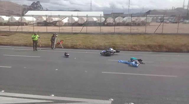 Muere motociclista en Autopista Sur