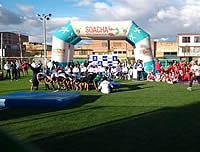 Se inaugura  cancha sintética de fútbol en la comuna 3 de Soacha