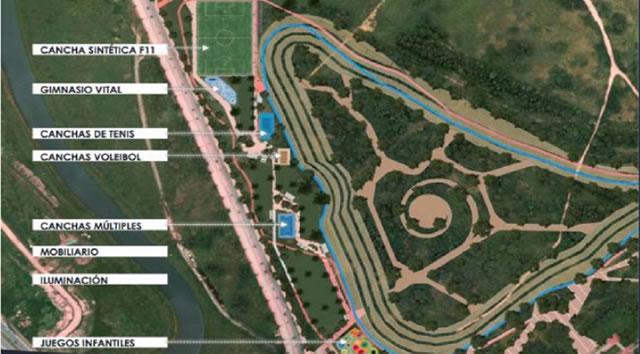 Listo  convenio para la construcción del Parque Metropolitano PTAR Salitre