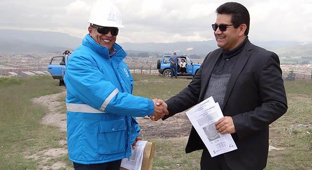 En  La Veredita se  agilizará  construcción de   acueducto