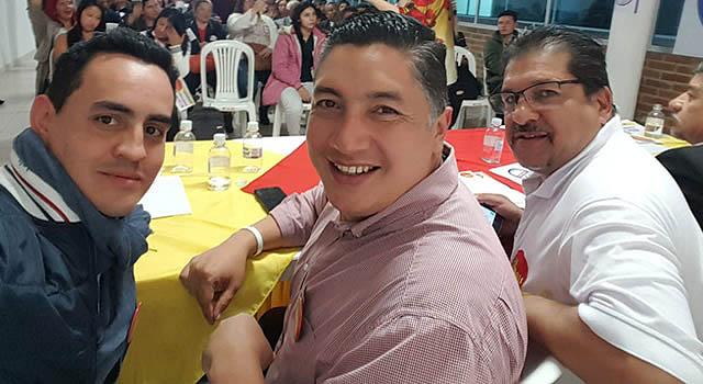 Movimiento político MAIS entrega coaval a Giovanni Ramírez