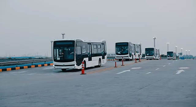 En agosto llega la flota de buses eléctricos más grande del país
