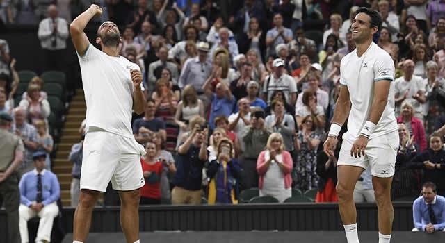 Cabal y Farah ganan  grand slam de Wimbledon