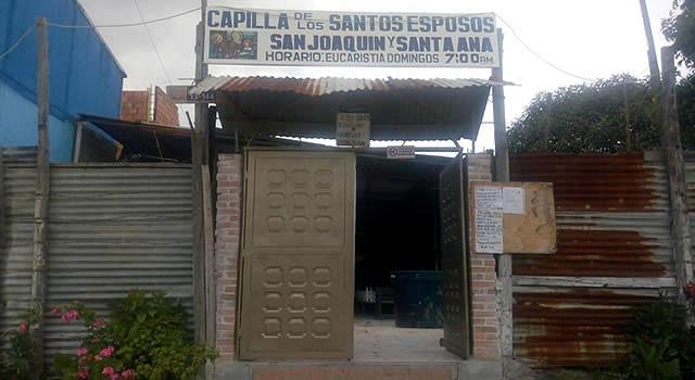 Una nueva capilla en Soacha necesita la ayuda de la comunidad