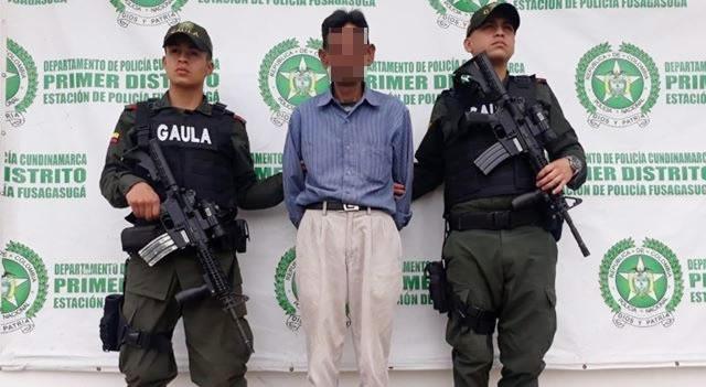 Gaula captura presunto extorsionista en Cundinamarca